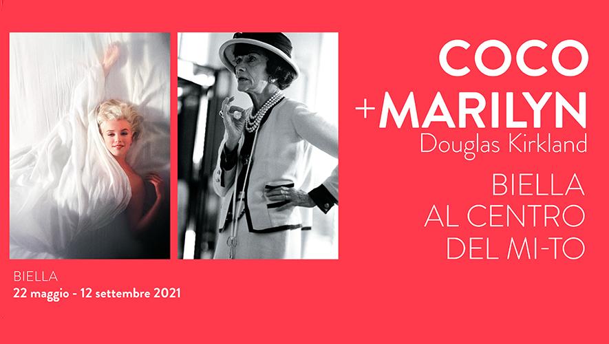 Douglas Kirkland • COCO + MARILYN <br> Biella al centro del MI-TO